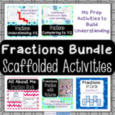 Fraction Activities, Games, and Worksheets - Scaffolded to Build Understanding