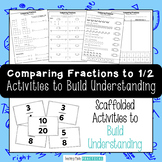 Comparing Fractions to 1/2 - Activities to Help Compare and Order Fractions