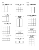 Fractions Practice : Equivalent Fractions, Comparing Fractions