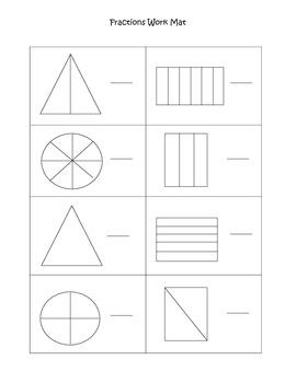 Fractions Practice Mat