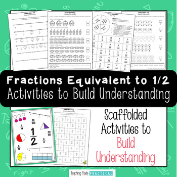 Understanding the Fraction 1/2 - Fractions Equivalent to Half Introduction