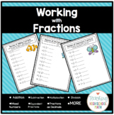Fractions Practice Workbook