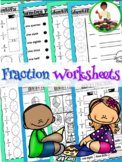 Fractions Printables | Identifying Fractions | Fraction for beginners