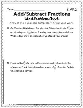Fractions Printables & Task Cards