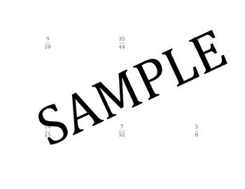 Fraction Problem Solving Task Cards: Level 12  Three Step Data Problem Solving