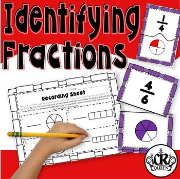 Fraction Puzzles: Identifying & Matching Fractions Using Area Models