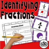 Fraction Puzzles: Identifying & Matching Fractions Using A