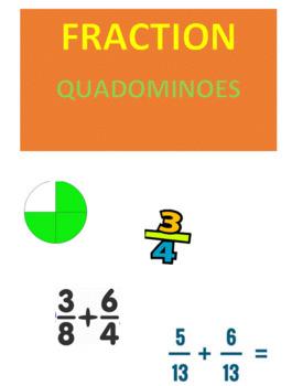 Fractions Quadominoes