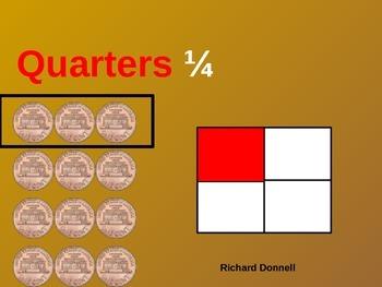 Fractions (Quarter of)