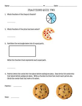 Fractions Quiz 2