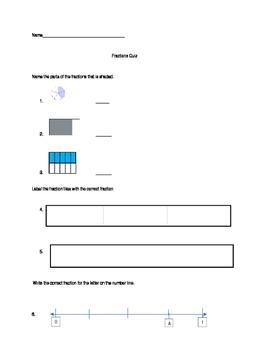Fractions Quiz