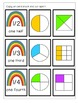 Fraction Triple Match Game Rainbow