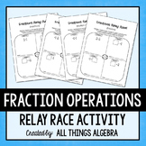 Fractions Relay Races