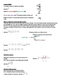 Fractions Review