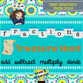 Add, Subtract, Multiply, and Divide Fractions Fun Activities