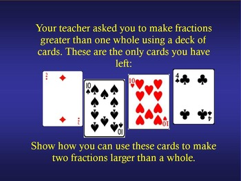 Fractions Review 3rd Grade Math Jeopardy ~ Promethean Game ~ Engage NY Module 5