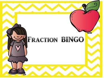 Fractions Review BINGO