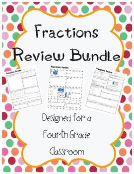 Fractions Review Bundle