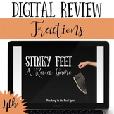 Distance Learning Fractions Review Game Stinky Feet