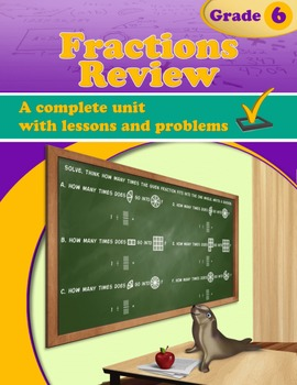 Fractions Review (Grade 6)