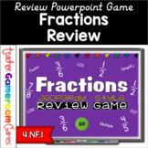 Fractions Review Digital Game