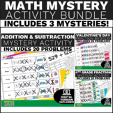 Fractions Review Activity 4th Grade Math Game