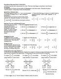 Fractions Review Part 1 Fall 2013 (Editable)