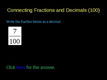 Fractions Review PowerPoint Game Activity
