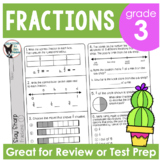 Fractions Review and Test Prep