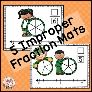 St. Patrick's Day Math: Mixed Numbers and Improper Fractions