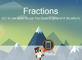 Fractions SMART Notebook