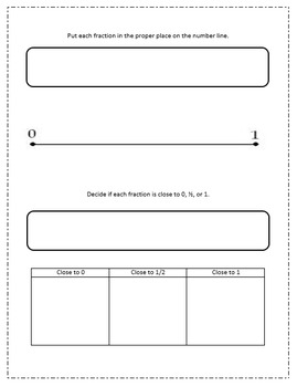 Fractions: Scaffolded Notes / Dry-Erase Activity / Center / Worksheet