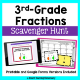 Fractions Review- A Scavenger Hunt