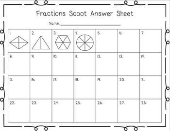 Fractions Scoot