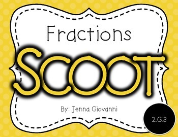 Fractions Scoot 2.G.3