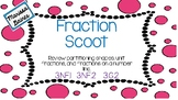 Fractions Scoot {Partitioning Shapes and Number Lines}