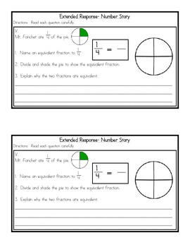 Fractions Skills Review Packet {Common Core Concepts}