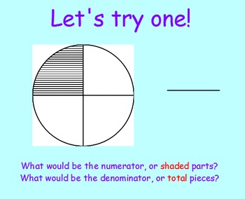 Fractions SmartBoard Lesson