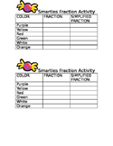Fractions - Smarties Activity