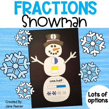 Fractions Snowman