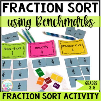 Fraction Sort Game
