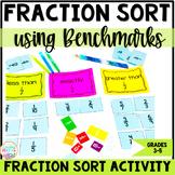 Fraction Sort Game Comparing Fractions