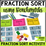 Fraction Sort Game Comparing Fractions
