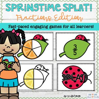 Fractions: Springtime SPLAT!