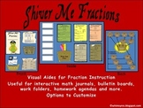 Fractions- Study Guide- Visual Aid- Lapbook