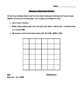 Fractions Supplemental Packet