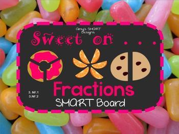 Fractions: Sweet on Fractions SMART Board