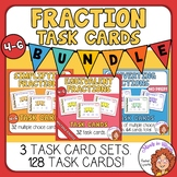 Fractions Task Card Bundle - Equivalent, Simplifying, and
