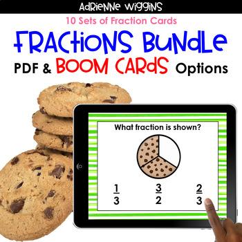 Fractions Task Card COMPLETE BUNDLE
