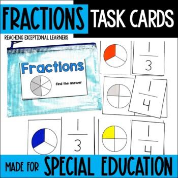Fractions Task Card Set